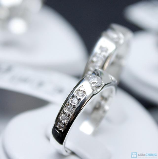 Nhẫn đôi bạc cao cấp Thành Phát - 14