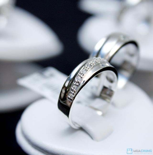 Nhẫn đôi bạc cao cấp Thành Phát - 18