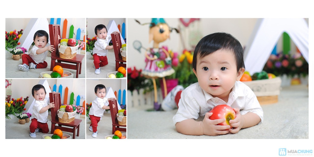 Chụp ảnh và in lịch cho bé tại Phạm studio - 13