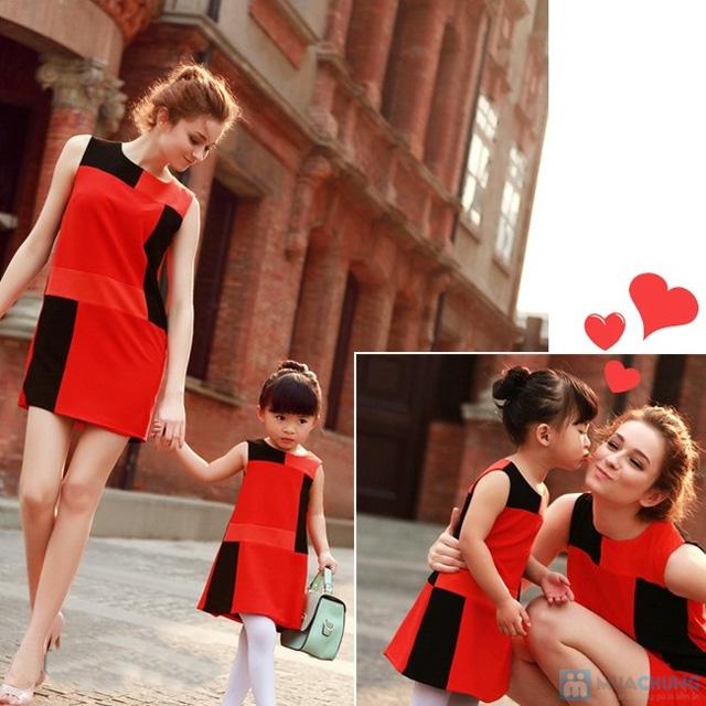 Combo đầm đôi cho mẹ và bé - 2