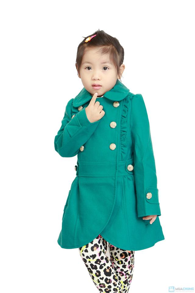 Áo dạ 2 lớp cho bé gái - 3