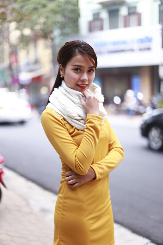 Khăn len ấm áp cho bạn nữ - 6