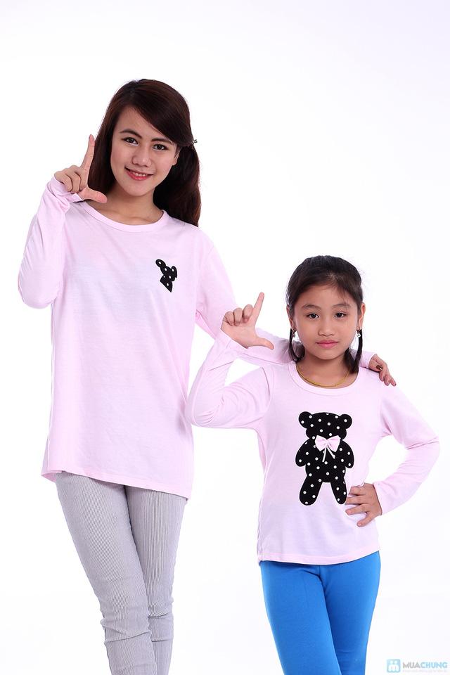 Combo áo đôi cho mẹ và bé - 4