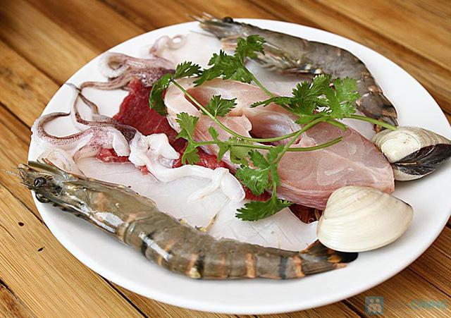 Set ăn: 01 món lẩu + 01 món phụ tự chọn dành cho 2 -3 người tại nhà hàng Bún Và Lẩu V  - 9