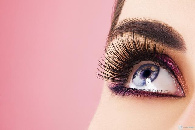 Nối mi 3D sợi tơ tằm công nghệ Hàn Quốc mới nhất Belle Hair & Spa - 1