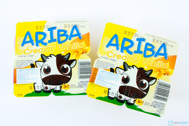Combo 05 vỉ váng sữa Ariba - 2