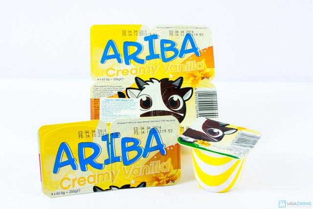 Combo 05 vỉ váng sữa Ariba - 5