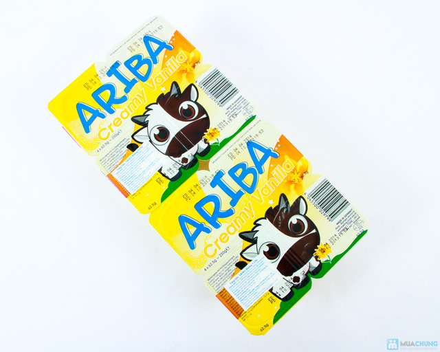 Combo 05 vỉ váng sữa Ariba - 1