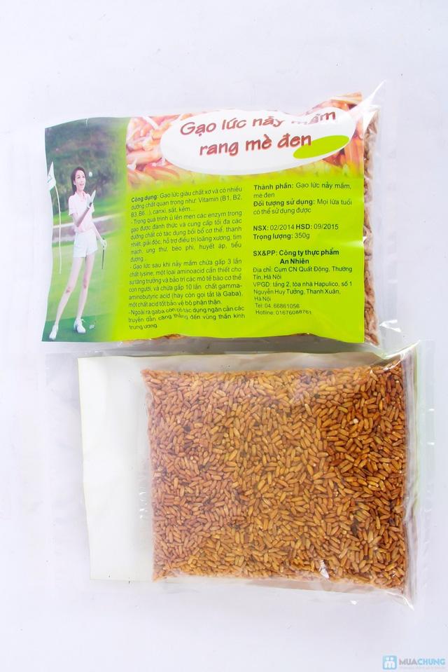 Combo 2 gói gạo lứt nẩy mầm rang mề đen - 3