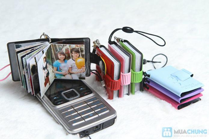Album mini dùng treo móc khóa, điện thoại - 1