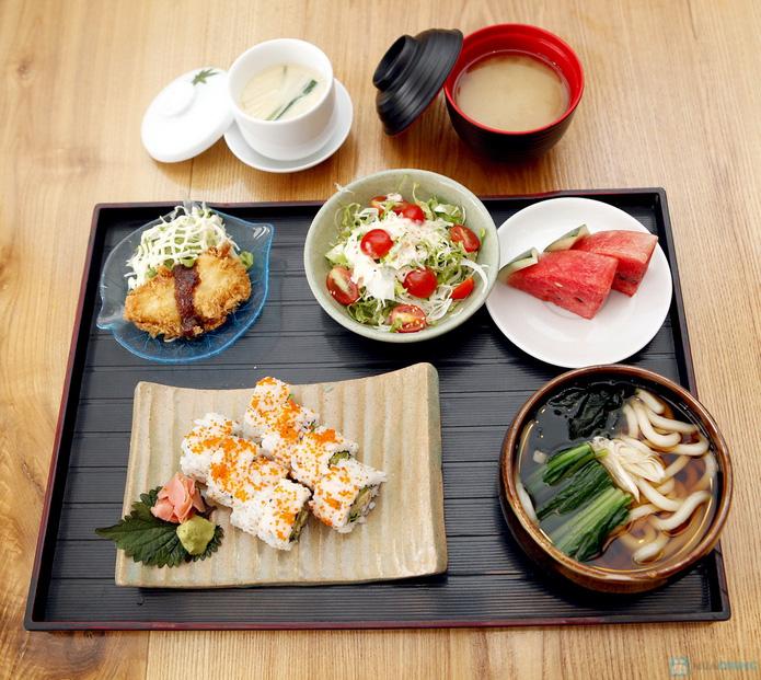 Set Nhật 1 người ăn trưa tại nhà hàng Tamaya - 9