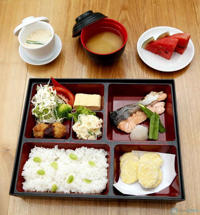 Set Nhật 1 người ăn trưa tại nhà hàng Tamaya - 22