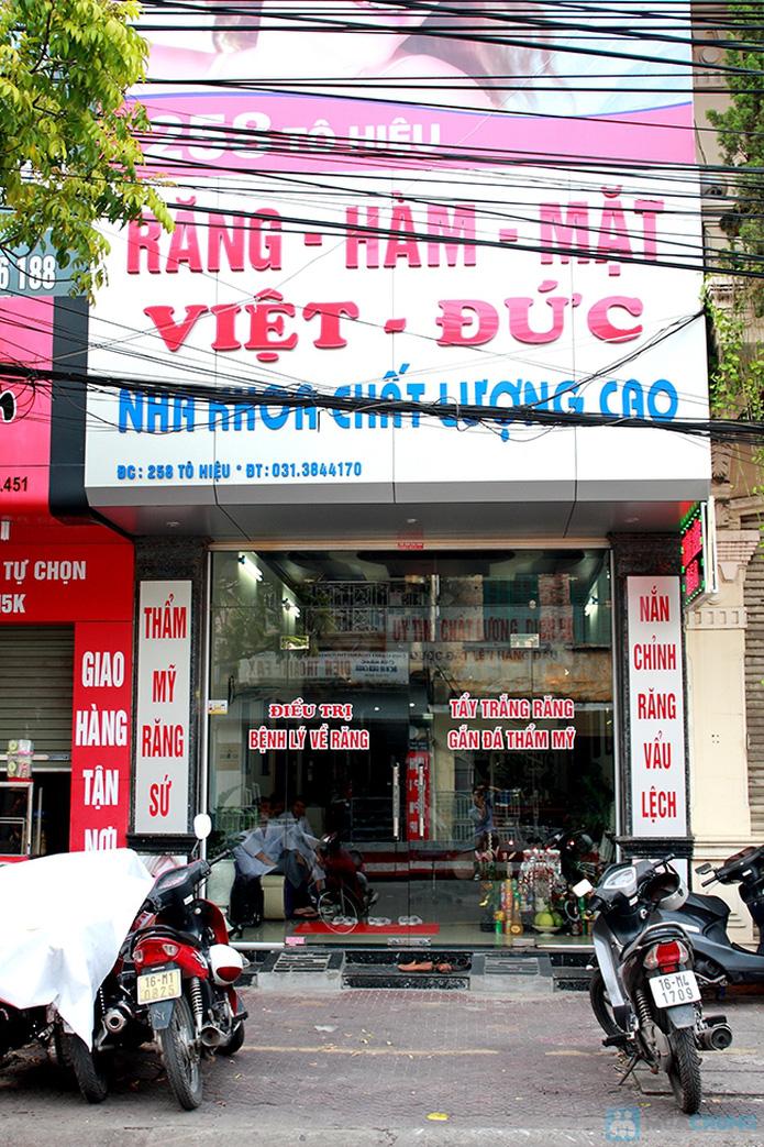 Dịch vụ lấy cao răng tại nha khoa Việt Đức - 17