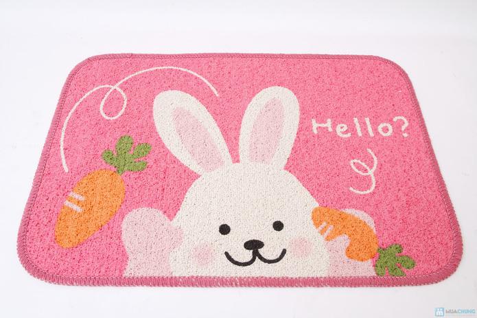 Combo 02 thảm Hello Panda & Hello Rabbit - 3