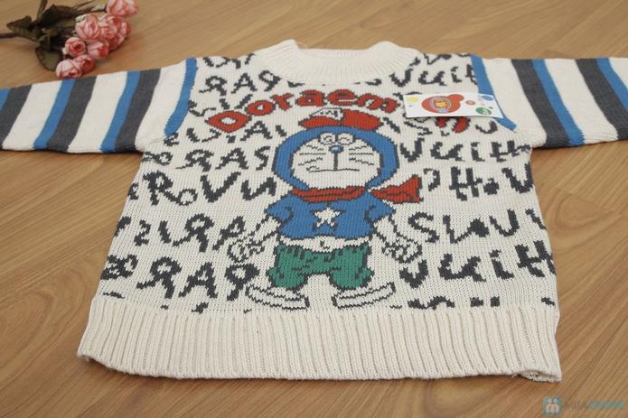 Áo len dỏemon cho bé - 3