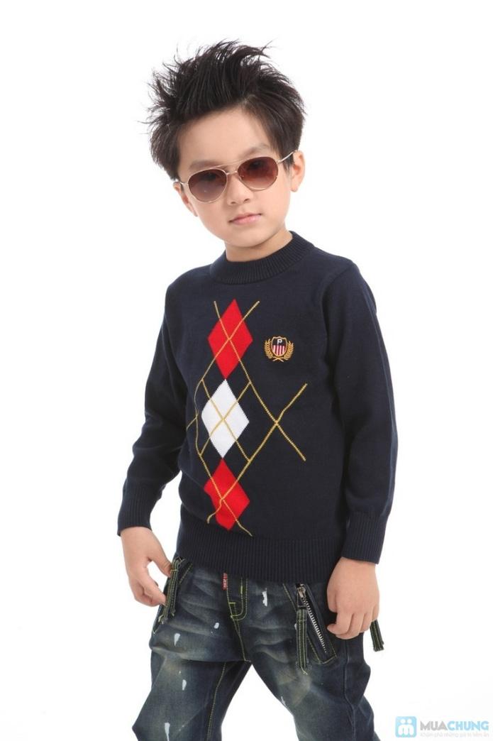 Áo len dỏemon cho bé - 1