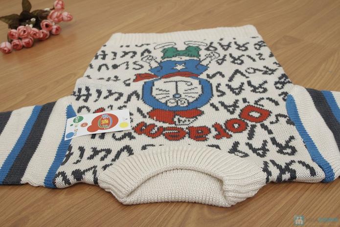 Áo len dỏemon cho bé - 5