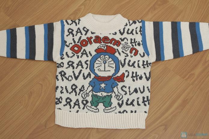 Áo len dỏemon cho bé - 6