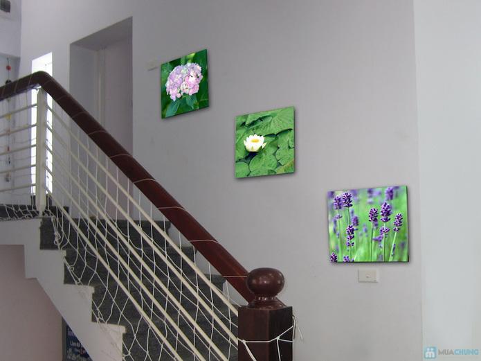 Bộ 3 tranh nghệ thuật trang trí nhà - 1