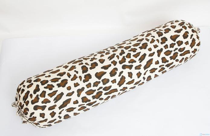 gối ôm bông hạt 35x100cm vỏ cotton mềm mại - 4