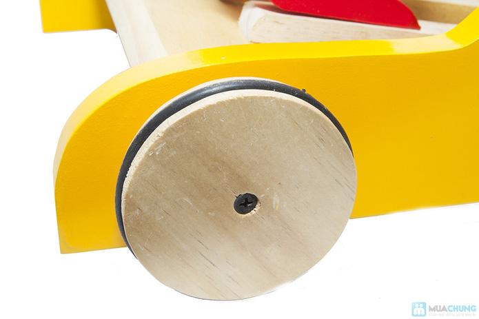 Xe gỗ tập đi cho trẻ em - 4