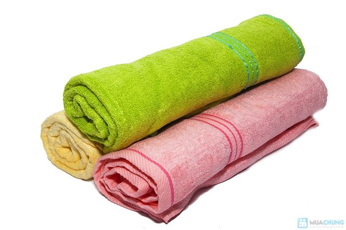 Khăn tắm siêu mềm sợi xơ tre - 2