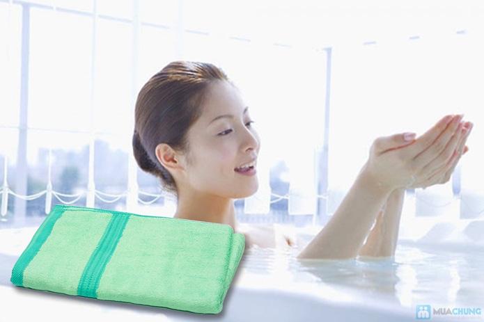 Khăn tắm siêu mềm sợi xơ tre - 7