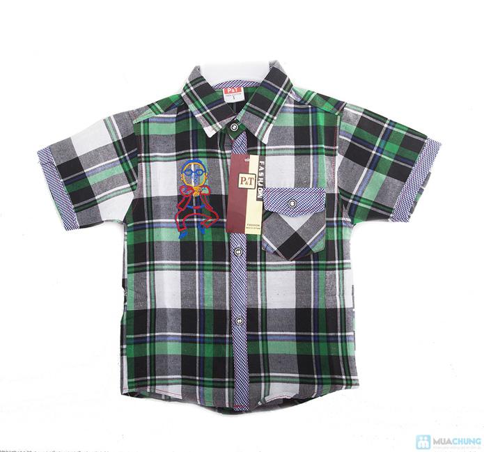 Quần jean và áo sơ mi cho bé trai - 3