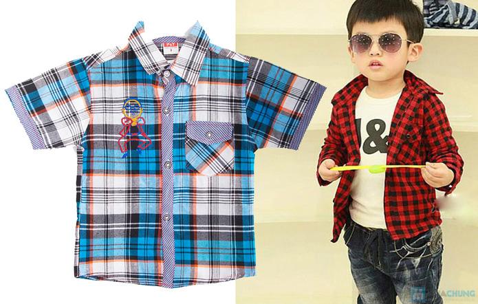 Quần jean và áo sơ mi cho bé trai - 10