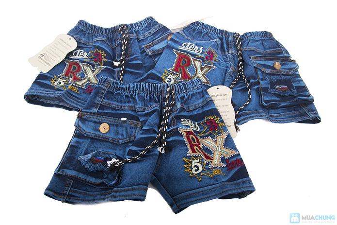 Quần jean và áo sơ mi cho bé trai - 6