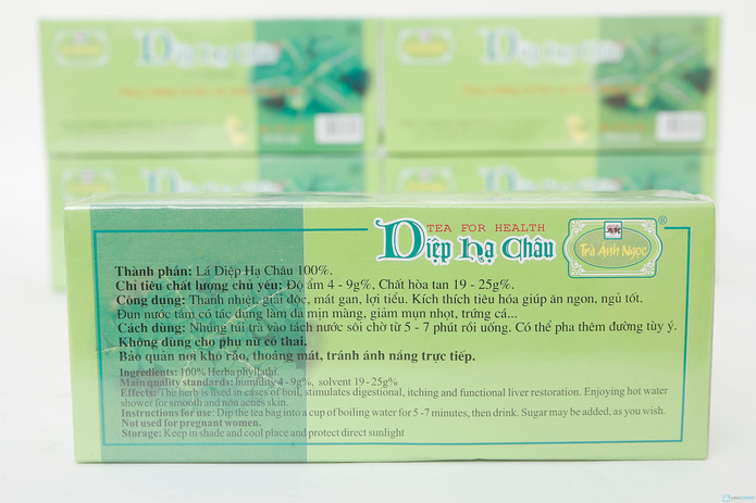 6 hộp trà Diệp Hạ Châu dạng túi lọc bảo vệ chức năng gan - 3
