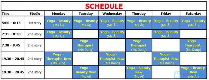 Khóa học Yoga 12 buổi tại CLB Dáng Xinh - 1