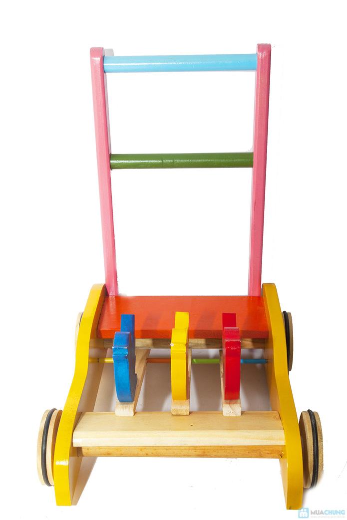 Xe gỗ tập đi cho trẻ em - 3