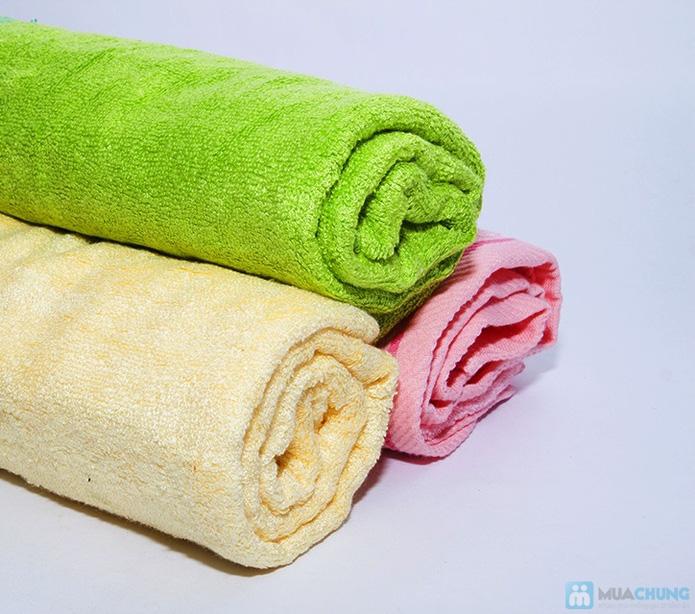 Khăn tắm siêu mềm sợi xơ tre - 1