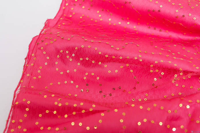 Váy nhung phối kim sa cực đáng yêu cho bé gái  - 6