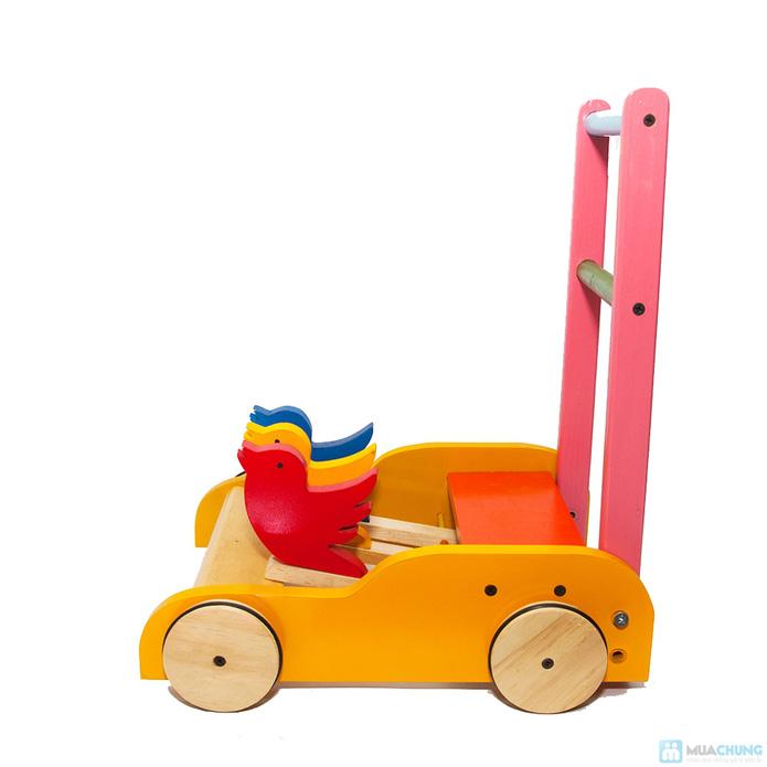Xe gỗ tập đi cho trẻ em - 10