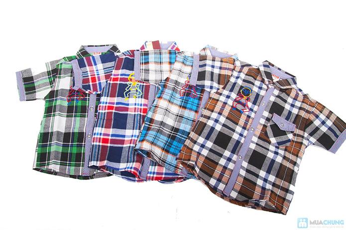 Quần jean và áo sơ mi cho bé trai - 7