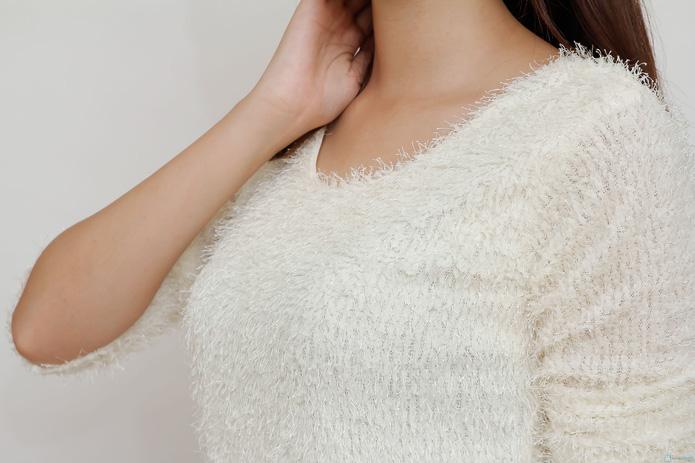 Váy len liền phong cách cho bạn gái - 5