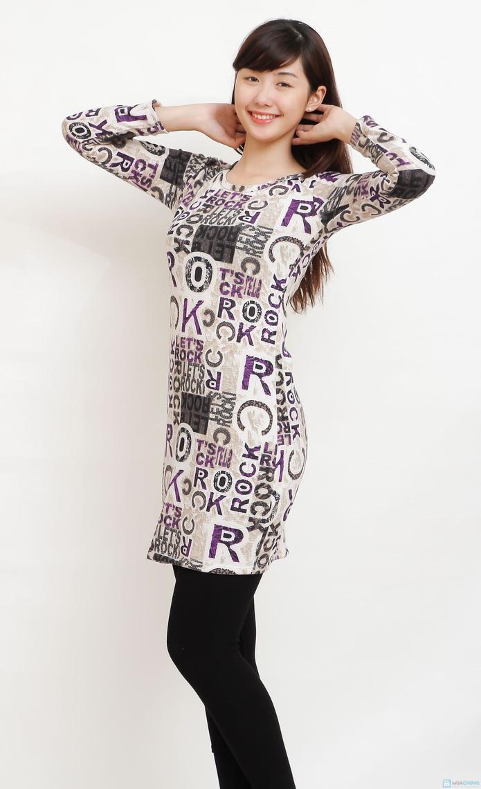 Váy len dáng suông - 10