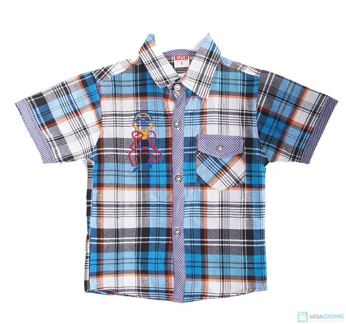 Quần jean và áo sơ mi cho bé trai - 1