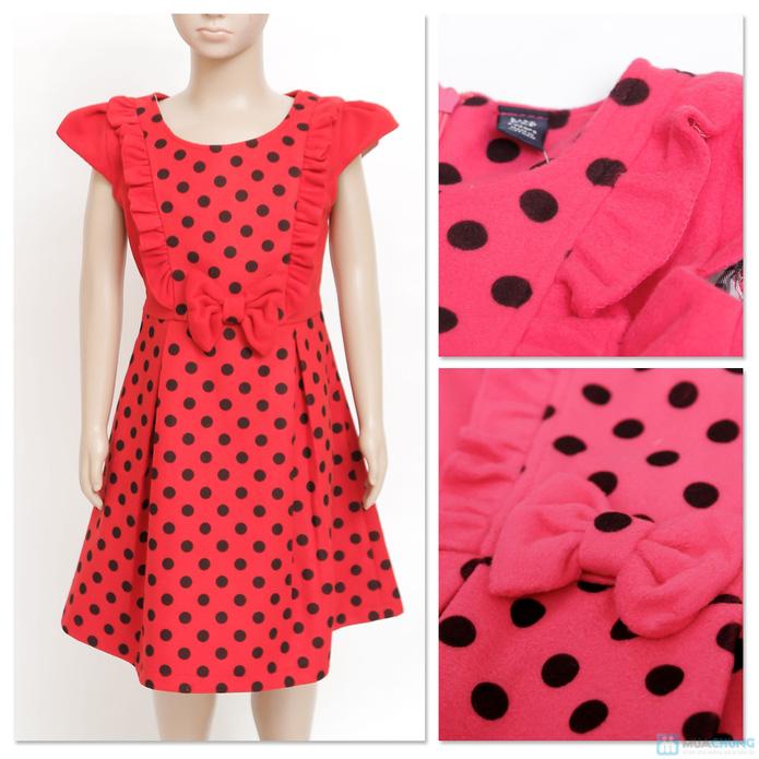 Váy dạ chấm bi Kitty kids xinh xắn  - 7