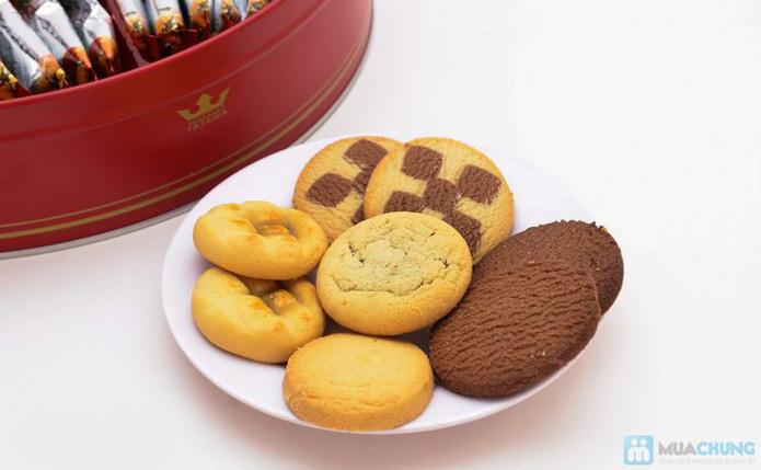 Bánh Sweet messege ( bánh quy tổng hợp, bánh nhân mứt , nhân chocolate dẻo) - 9