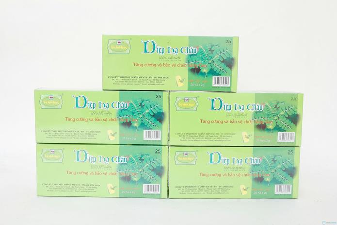 6 hộp trà Diệp Hạ Châu dạng túi lọc bảo vệ chức năng gan - 1