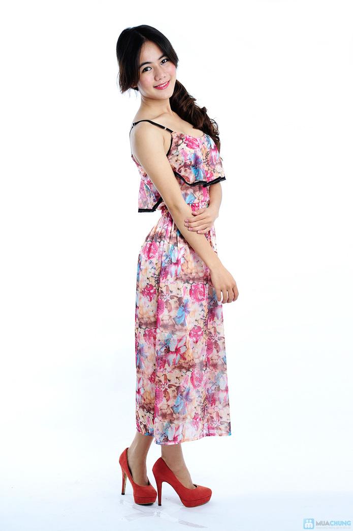 Đầm voan nero xinh xắn - 3