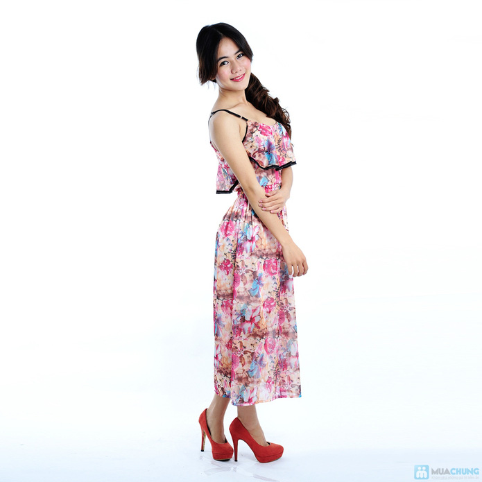 Đầm voan nero xinh xắn - 9
