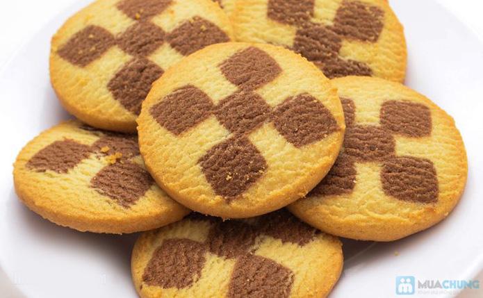 Bánh Sweet messege ( bánh quy tổng hợp, bánh nhân mứt , nhân chocolate dẻo) - 7