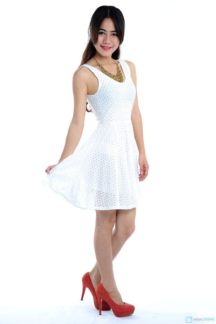 Đầm ren trắng tinh khôi - 4