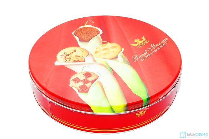 Bánh Sweet messege ( bánh quy tổng hợp, bánh nhân mứt , nhân chocolate dẻo) - 2