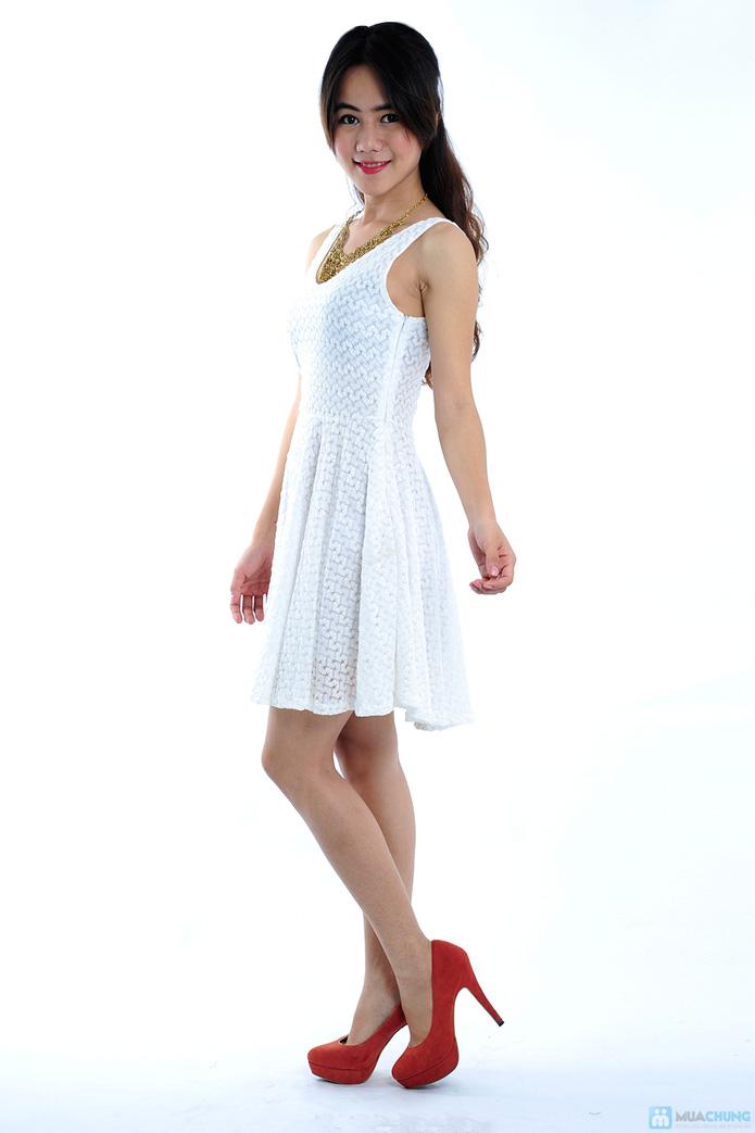 Đầm ren trắng tinh khôi - 3