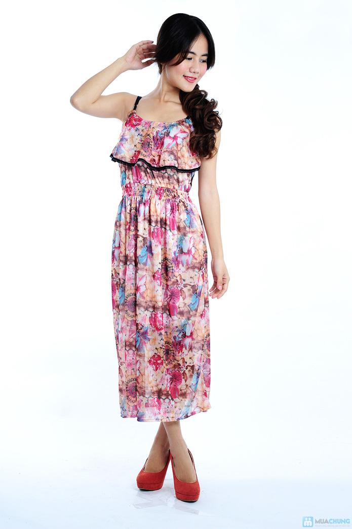 Đầm voan nero xinh xắn - 2